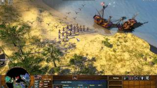 getlinkyoutube.com-The Battle of Yorktown - Age of Empires 3 The Warchiefs - Act 1 Mission 8 - Hard