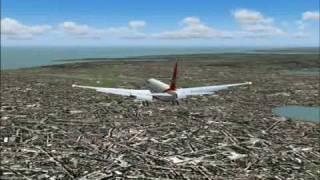 getlinkyoutube.com-Air India 777-237LR Takeoff & Emergency Landing At Mumbai