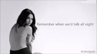 getlinkyoutube.com-Selena Gomez Camouflage Lyrics