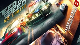 Need For Speed No Limit  VS Asphalt 8