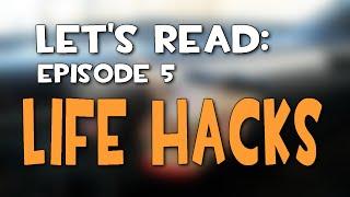 getlinkyoutube.com-Let's Read #5 - Life Hacks