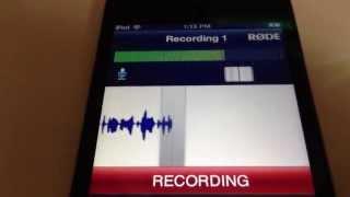 getlinkyoutube.com-Røde smartLav mic and Røde Rec App for iOS