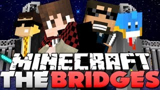 getlinkyoutube.com-Minecraft THE BRIDGES!! - SECRET CHEST OF DOOM! (ft. Bajan, Husky and Bodil)