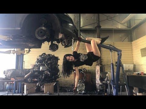INFINITI замена двигателя