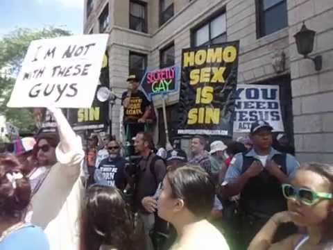 CHICAGO PRIDE PARADE HOMO SEX IS SIN