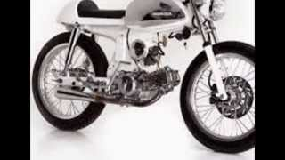 getlinkyoutube.com-Modifikasi Sepeda Motor Classic Honda S90 Modif Cafe Racer Kinclong Blink Blink