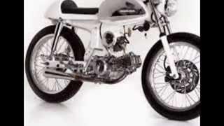 getlinkyoutube.com-Modifikasi Sepeda Motor Classic Honda S90 Modif Cafe Racer Kinclong Blink Blink
