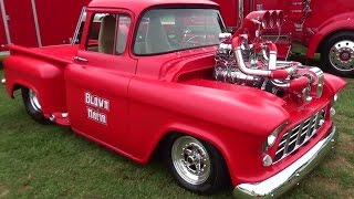 "56 Chevy Pickup Big Block F2 ProCharger & 871 Blower""Blown Mafia"""