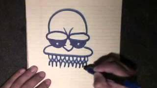 getlinkyoutube.com-how  to draw a cool character -step by step - cholowiz