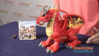 getlinkyoutube.com-Imaginext Castle Dragon from Fisher-Price
