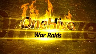 getlinkyoutube.com-OneHive War #225  TH9 vs TH10 3 Stars