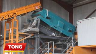 C&D Waste Sorting Line | MRF Recycling Facility from Tong Recycling