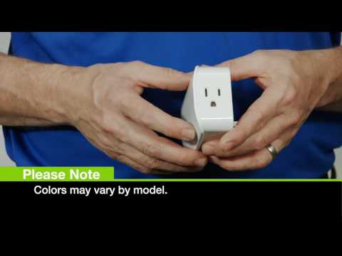 GE Z-Wave Plus Plug-in Smart Switch, Dual Plug