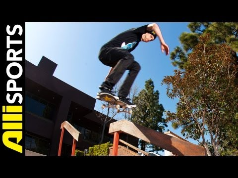 Greg Lutzka Skates Mini-Ramp + Hits the Streets, Alli Sports Skateboard Day With