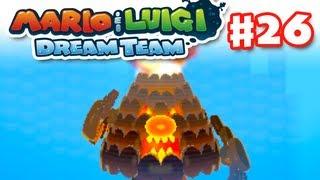 getlinkyoutube.com-Mario & Luigi: Dream Team - Gameplay Walkthrough Part 26 - Mount Pajamaja Boss (Nintendo 3DS)