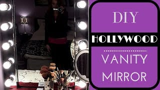 getlinkyoutube.com-DIY: Build your own Hollywood Vanity Mirror! EASY & AFFORDABLE