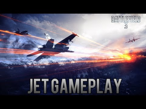 Battlefield 3 Online Gameplay - Jet Kills Gameplay Montage
