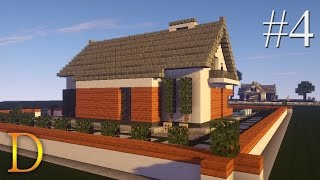 getlinkyoutube.com-MINECRAFT PORADNIK - Jak zbudować: modern house z basenem [#4]
