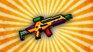 getlinkyoutube.com-Pixel Gun 3D - Hellraiser UP2 [Review]