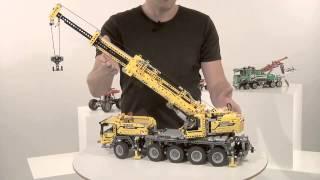 getlinkyoutube.com-LEGO Technic Новинки 2013 Лего техник: Передвижной Кран, Машина Техобслуживания, Монстрогрузовик