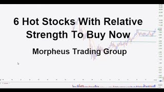 6 Hot Stocks With Relative Strength To Buy Now - video width=