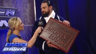 getlinkyoutube.com-Damien Sandow reveals the new and improved Money in the Bank Briefcase: SmackDown, Aug. 9, 2013
