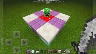 getlinkyoutube.com-TRUCO EPICO DECORATIVO SIN MODS MINECRAFT PE 1.0 | TRUCO MCPE 1.0
