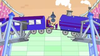 getlinkyoutube.com-Rat-A-Tat | Chotoonz Kids Cartoon Videos- 'Toy Train Don'