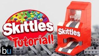 How to Build a LEGO Skittles Mini Machine