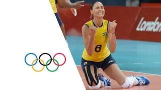 getlinkyoutube.com-Brazil Win Women's Volleyball Gold - London 2012 Olympics