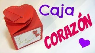 getlinkyoutube.com-Tutorial: Caja corazón (San Valentín). Heart box.