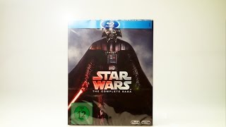 Unboxing: Star Wars (The Complete Saga) Blu-ray