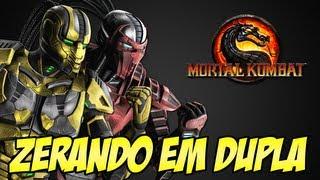 getlinkyoutube.com-Zerando em Dupla Cyrax e Sektor - Mortal Kombat 9