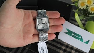 getlinkyoutube.com-Trên Tay Đồng Hồ Marc Jacobs - Women Truman Tone Stainless Steel Watch