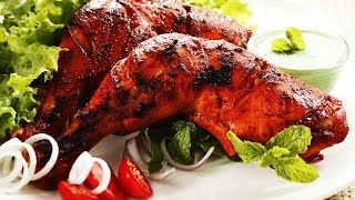 getlinkyoutube.com-Tandoori Chicken Video | No Oven – Easy To Make Recipe | Tandoori Chicken without oven
