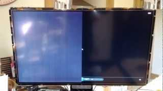 "getlinkyoutube.com-LG 42"" LCD (model 42LG5010) Screen Fault"