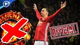 OFFICIEL : Ibrahimovic quitte Manchester United ! | Revue de presse