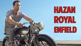 getlinkyoutube.com-Custom Royal Enfield Bullet 500 by Hazan Motorworks