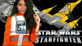 GETTING OVERLY EXCITED!!! - Star Wars Starfighter Gameplay (PS2 Classic)