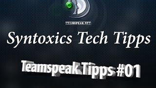 getlinkyoutube.com-Teamspeak 3 - Ping Ändern - IP verstecken - Teamspeak Tipps und Tricks #01 - Syntoxic Tech Tipps