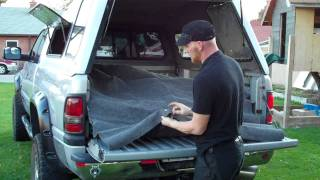 getlinkyoutube.com-How to build a low cost high efficiency carpet kit for your truck camper