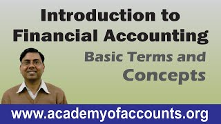 Basics of Financial Accounting || Fundamentals and Introduction || Lecture-1