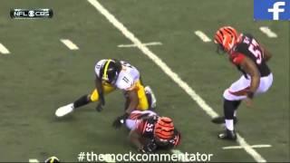 getlinkyoutube.com-Steelers vs Bengals With Hilarious Australian Mock Commentary
