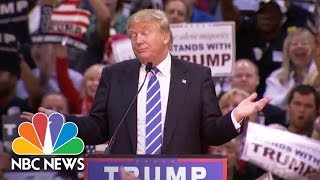 Donald Trump On The Stump: The Top Talking Points