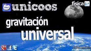 Imagen en miniatura para Gravitación universal
