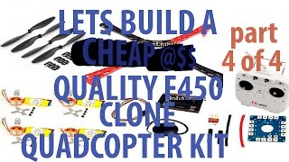 getlinkyoutube.com-F450 Quadcopter kit with cx20 remote step by step part 4