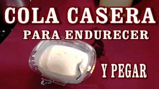 getlinkyoutube.com-COMO HACER COLA, PEGAMENTO CASERO PARA MANUALIDADES