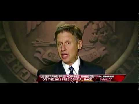 Libertarian Party Gary Johnson