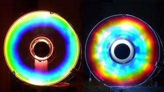 getlinkyoutube.com-Cómo hacer Colores Alucinantes con un CD (Arco iris Casero) /experiencia de Física