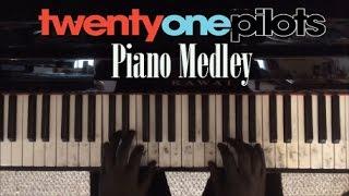 getlinkyoutube.com-twenty one pilots Piano Medley (19 songs from all 4 albums!)